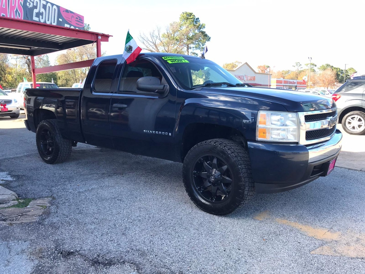 2008 Chevrolet Silverado 1500 2wd Ext Cab Lifted Mainland Investment Auto Sales Dealership In Houston