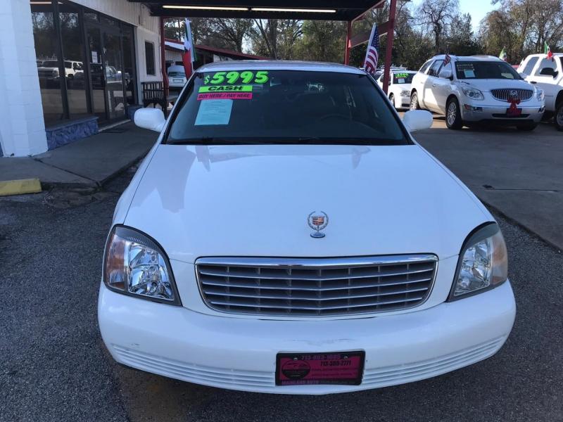 Cadillac DeVille 2002 price $5,495