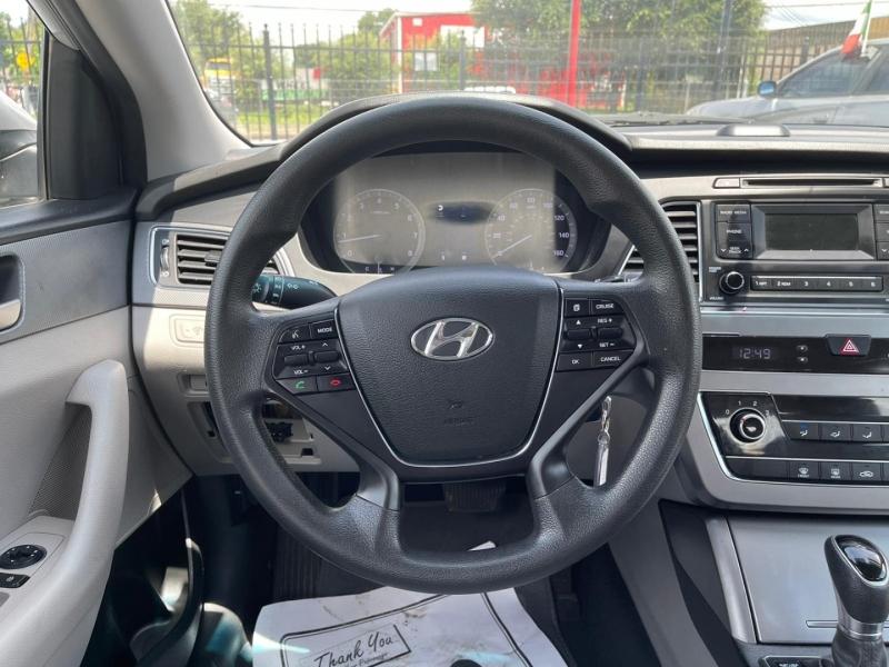 Hyundai Sonata 2017 price $12,995