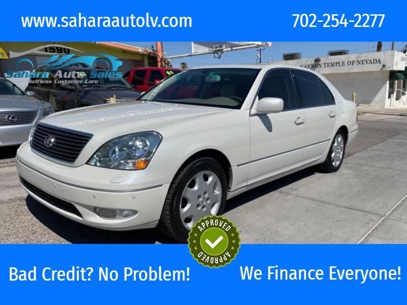 Lexus LS 430 2003 price $9,995