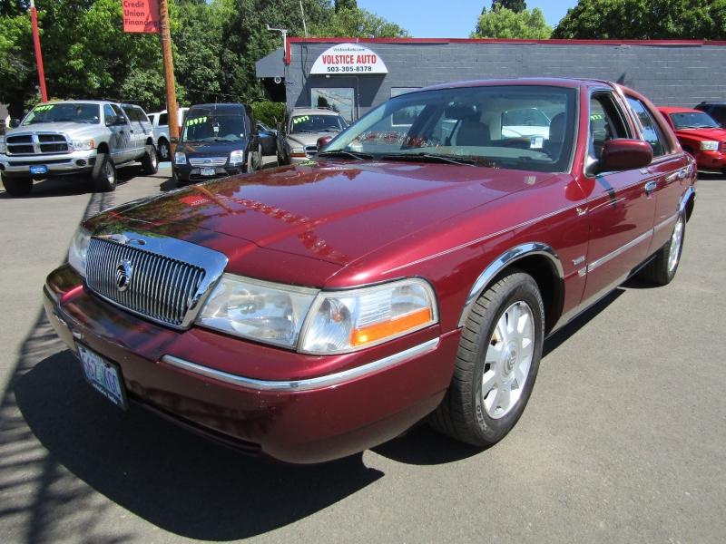 Mercury Grand Marquis 2004 price $5,477