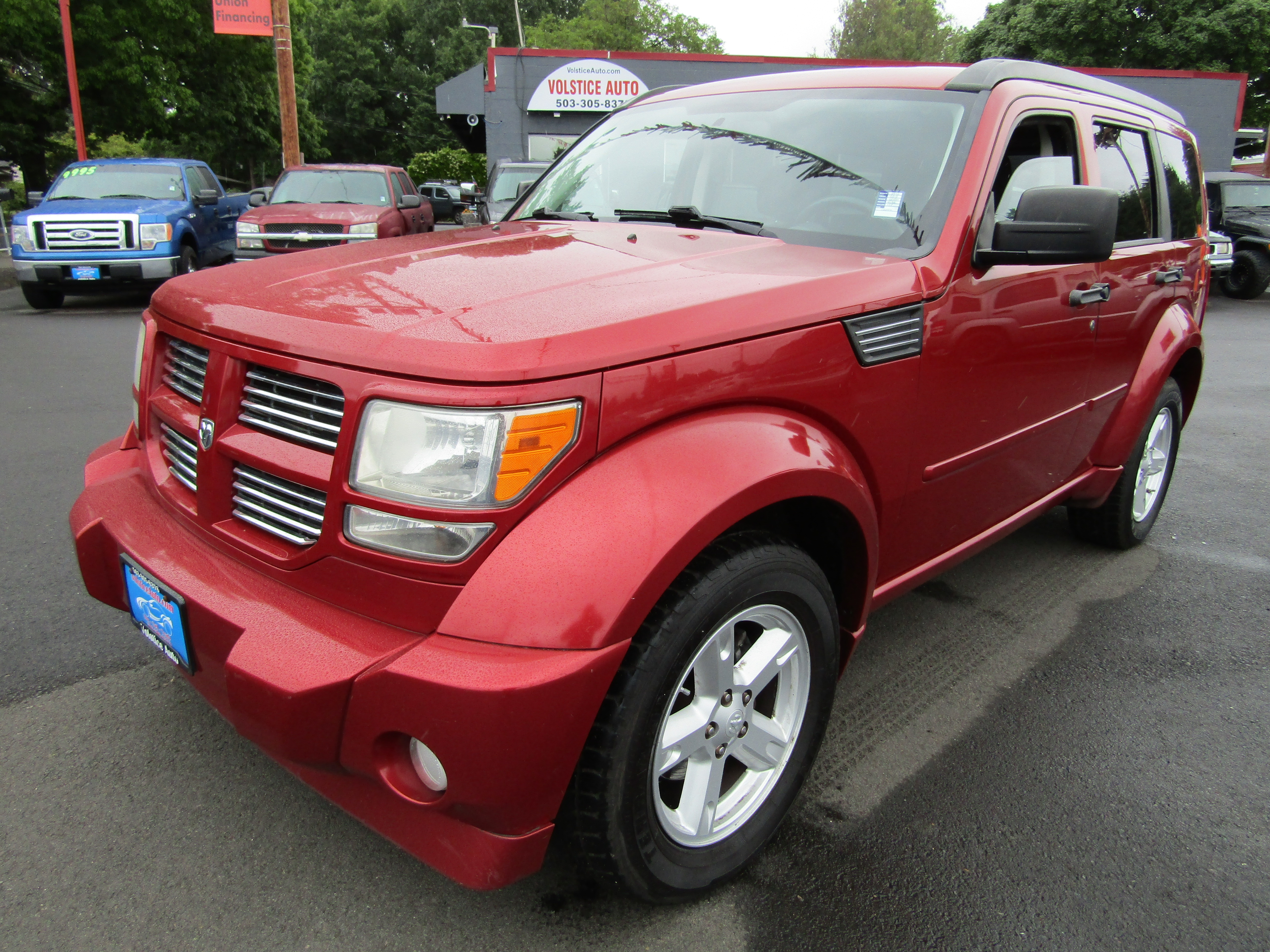 2010 Dodge Nitro 4wd 4dr Sxt Burgandy 117k Runs Awesome Volstice Auto Dealership In Milwaukie