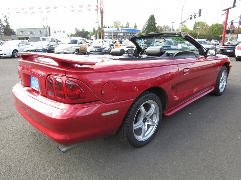 Ford Mustang 1998 price $8,477