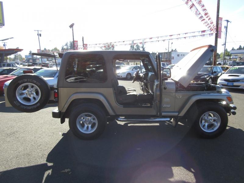 Jeep Wrangler 2004 price $14,577