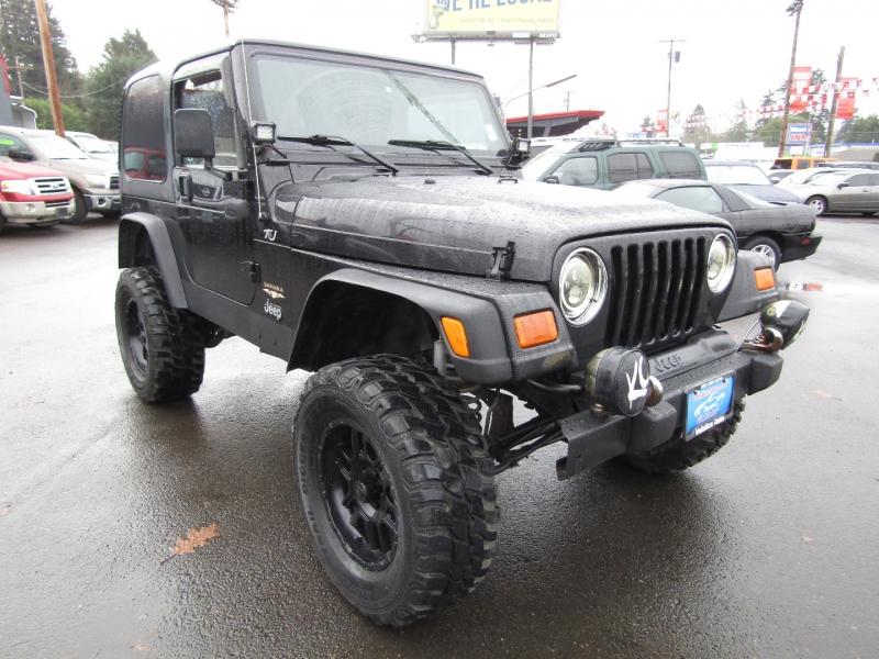 Jeep Wrangler 2002 price $13,477