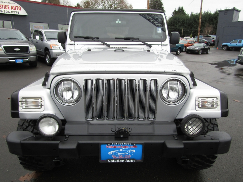 Jeep Wrangler 2003 price $11,477