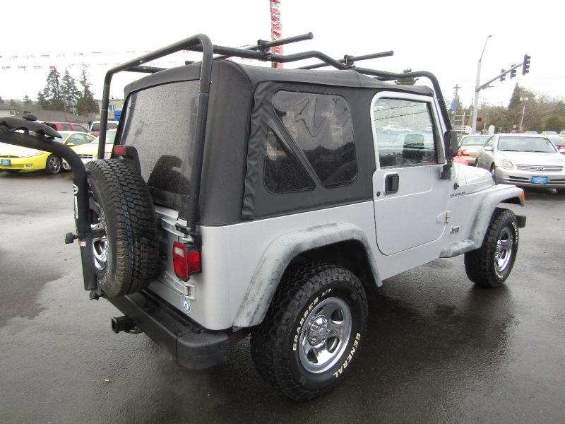 Jeep Wrangler 2002 price $11,977