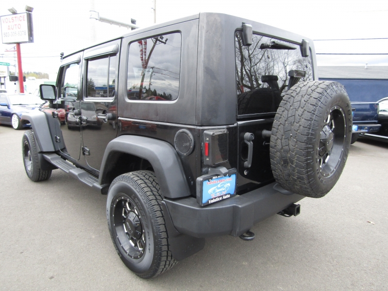 Jeep Wrangler Unlimited 2009 price $18,977