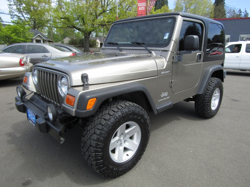 Jeep Wrangler 2003 price $18,977