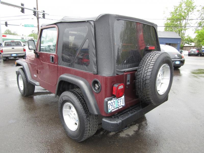 Jeep Wrangler 2002 price $16,977