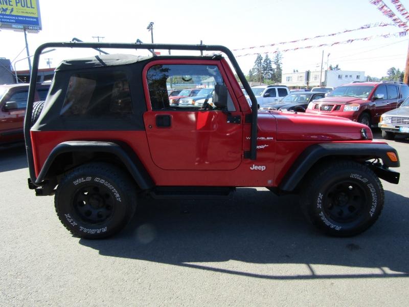 Jeep Wrangler 2002 price $10,977