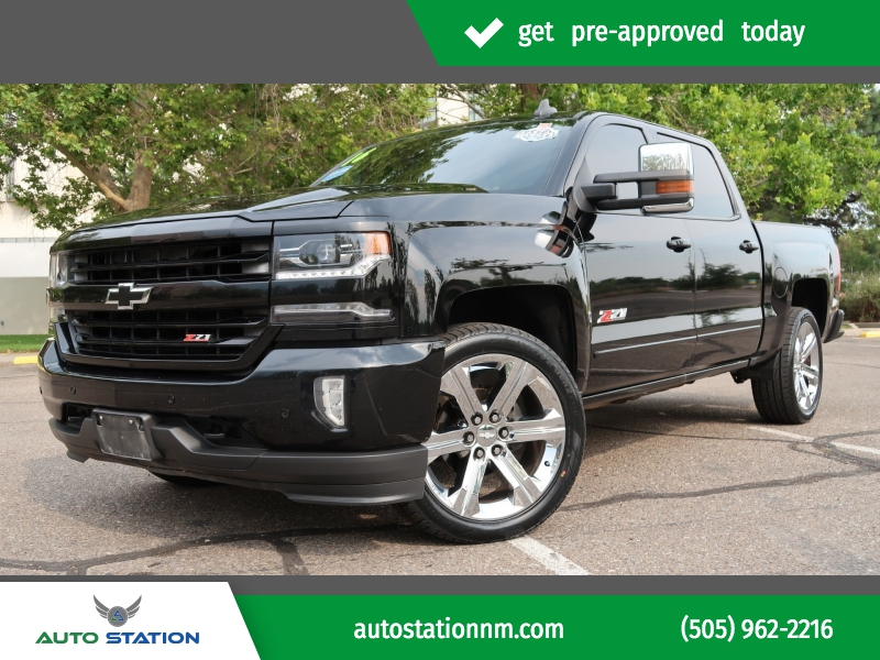 2016 Chevrolet Silverado 1500 Crew Pickup Auto Station Llc Dealership In Albuquerque