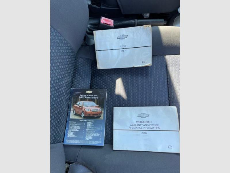 CHEVROLET AVEO 2007 price $3,495