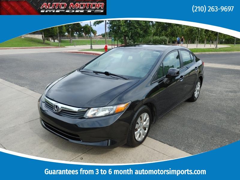 Honda Civic Sedan 2012 price $5,900
