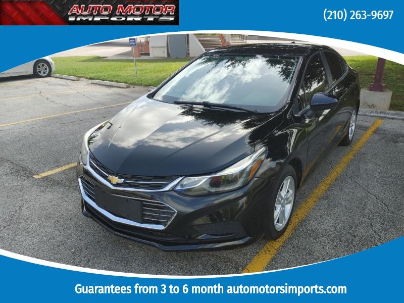 Chevrolet Cruze 2016 price $8,500