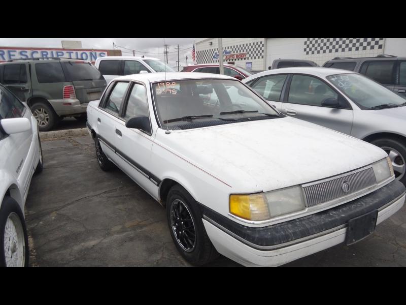 Mercury Topaz 1989 price $2,495