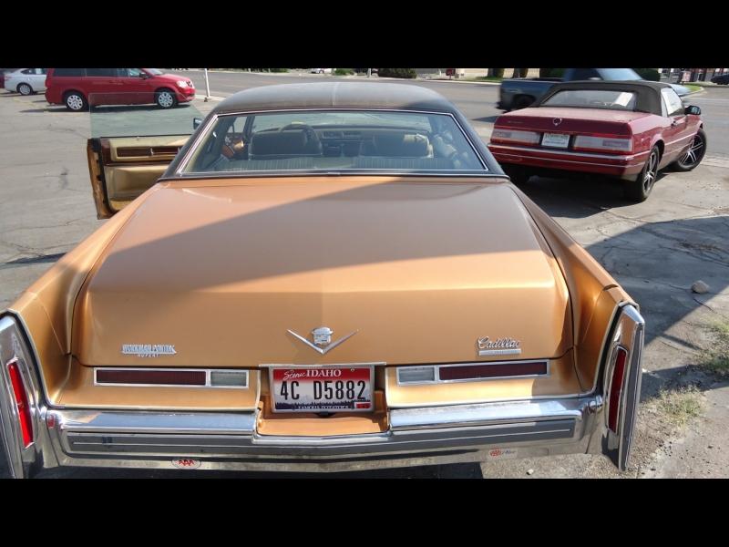 Cadillac Brougham 1976 price $11,995