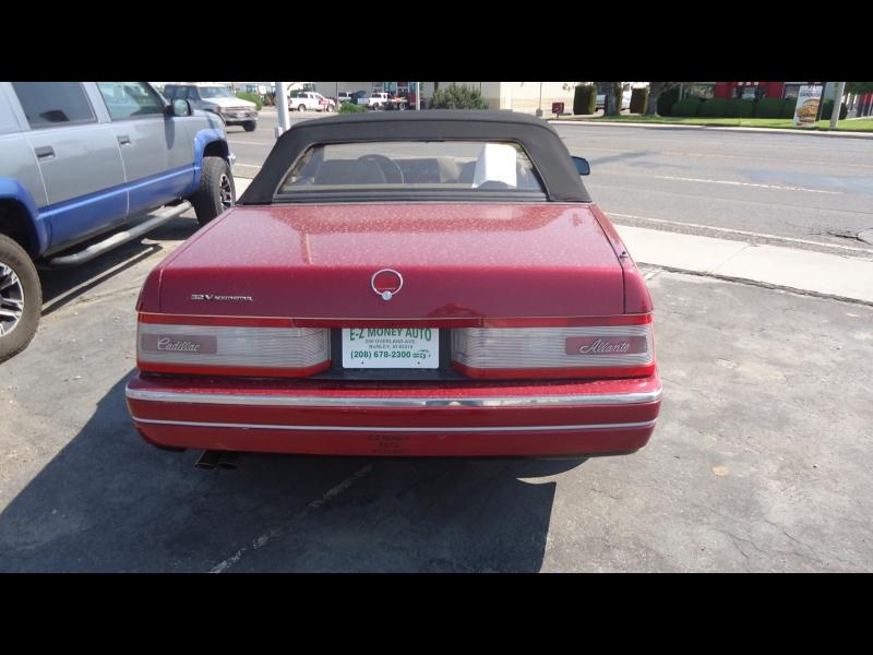 Cadillac Allante' 1993 price $9,000