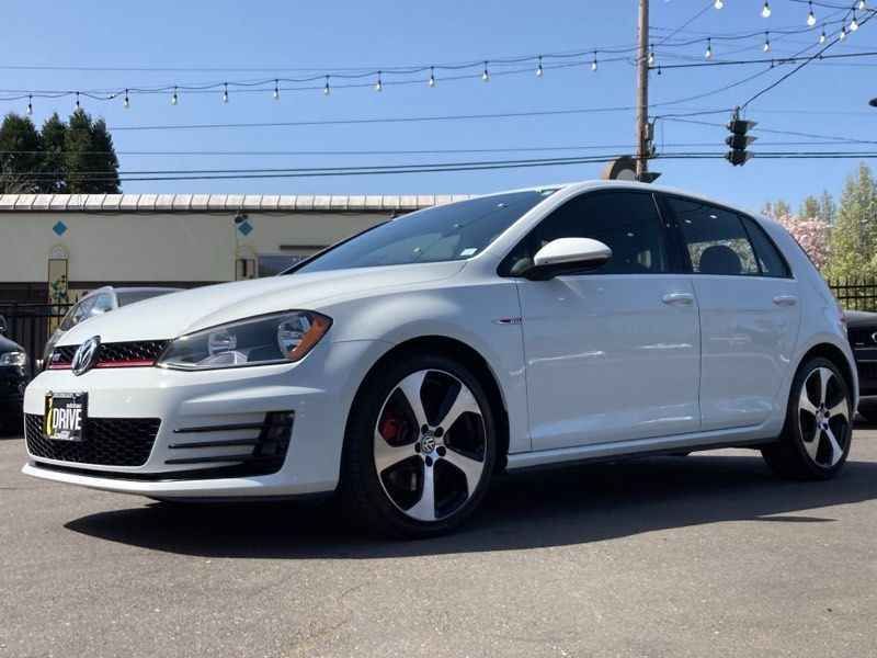 Volkswagen Golf GTI 2017 price $20,000