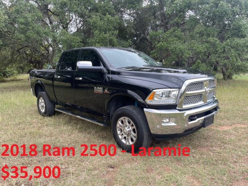RAM 2500 2018 price $35,900