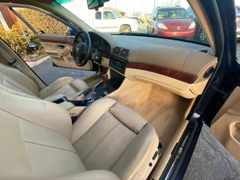 BMW 5-Series 2003 price $9,500 Cash