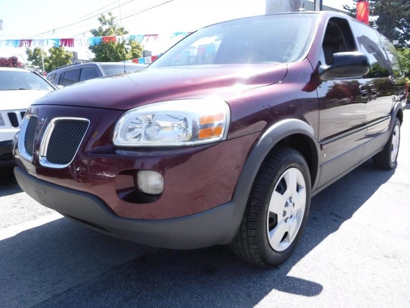 Pontiac Montana SV6 2008 price $4,800