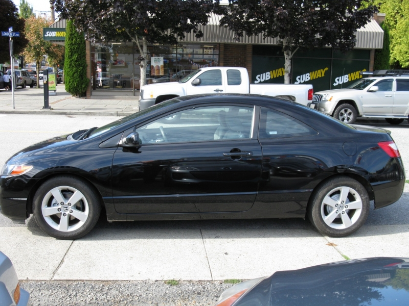 Honda Civic Coupe 2008 price