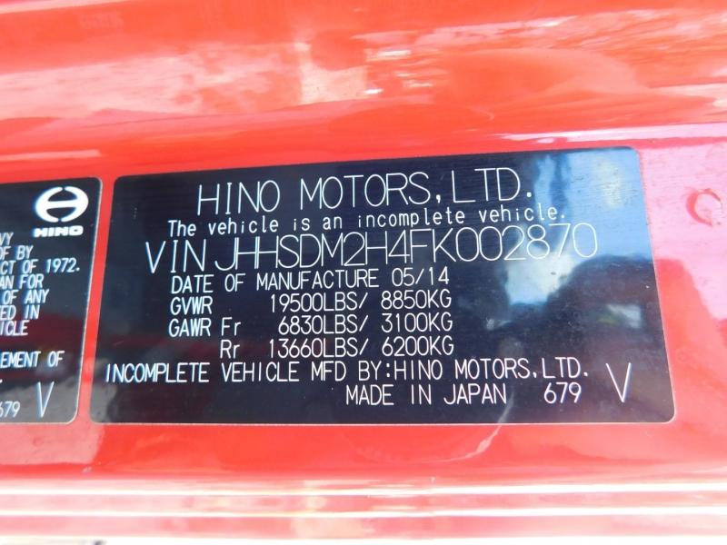 International Hino 2015 price $44,900