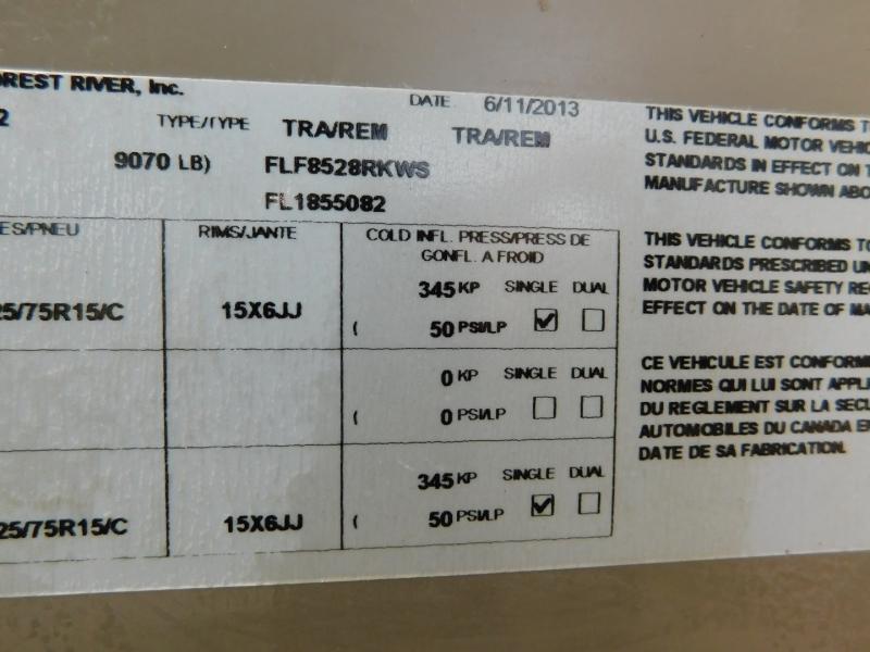 Forest River Flagstaff Classic Super Lite 2014 price $19,900