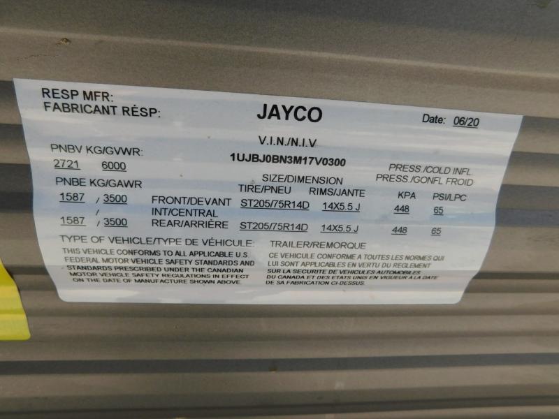 Jayco Jay flight 2021 price $21,900