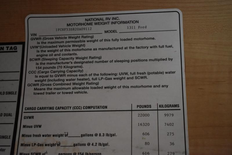 National SEA BREEZE 2003 price $19,900