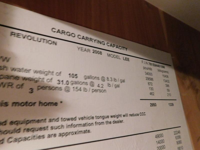 Fleetwood Revolution 2007 price $79,000