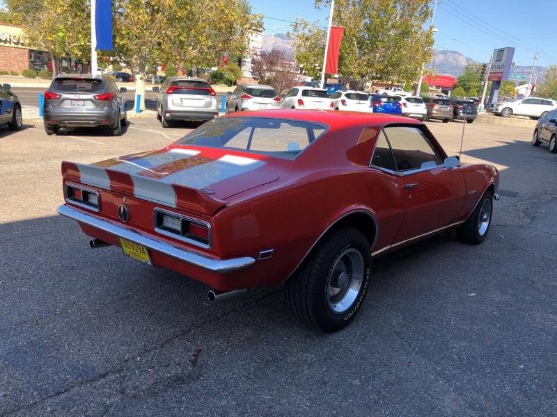 Chevrolet Camaro 1968 price $64,995