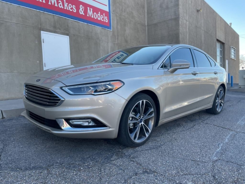 Ford Fusion 2018 price $20,995