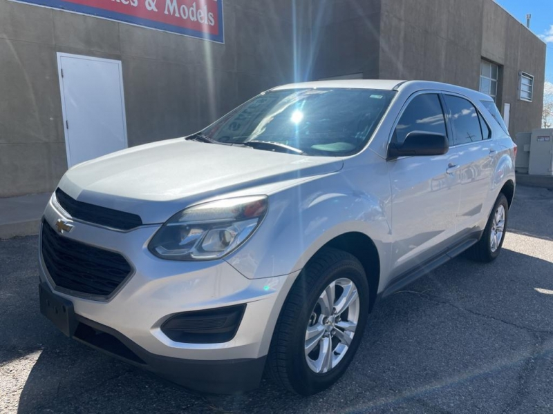 Chevrolet Equinox 2017 price $16,495