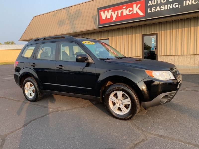 SUBARU FORESTER 2010 price $6,995