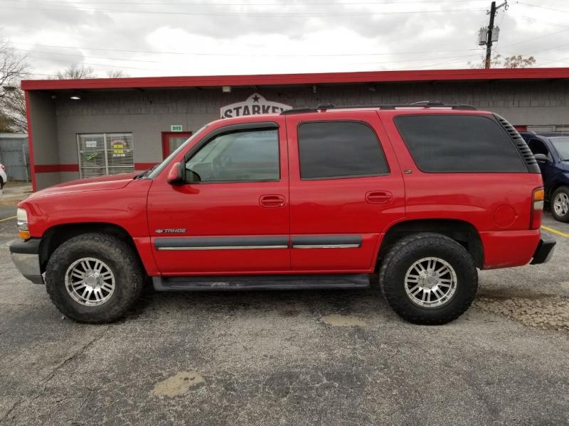 Chevrolet Tahoe 2002 price $5,950