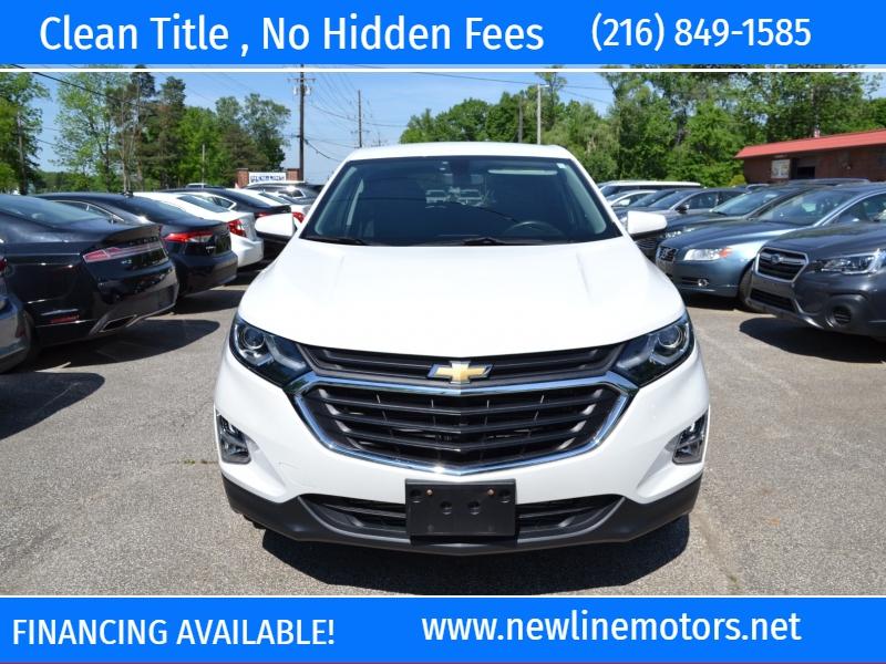 Chevrolet Equinox 2018 price $20,795