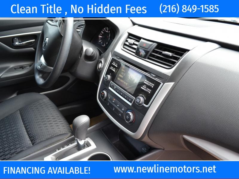 Nissan Altima 2017 price $15,495