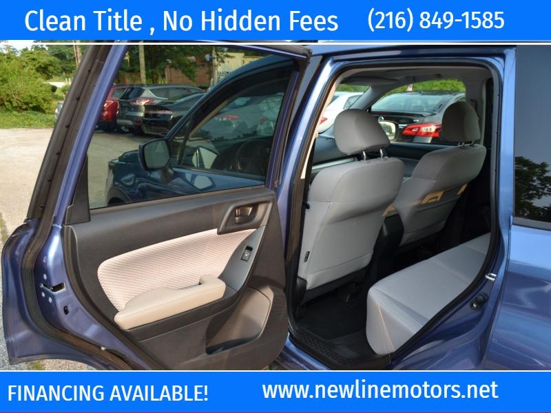 Subaru Forester 2018 price $22,395