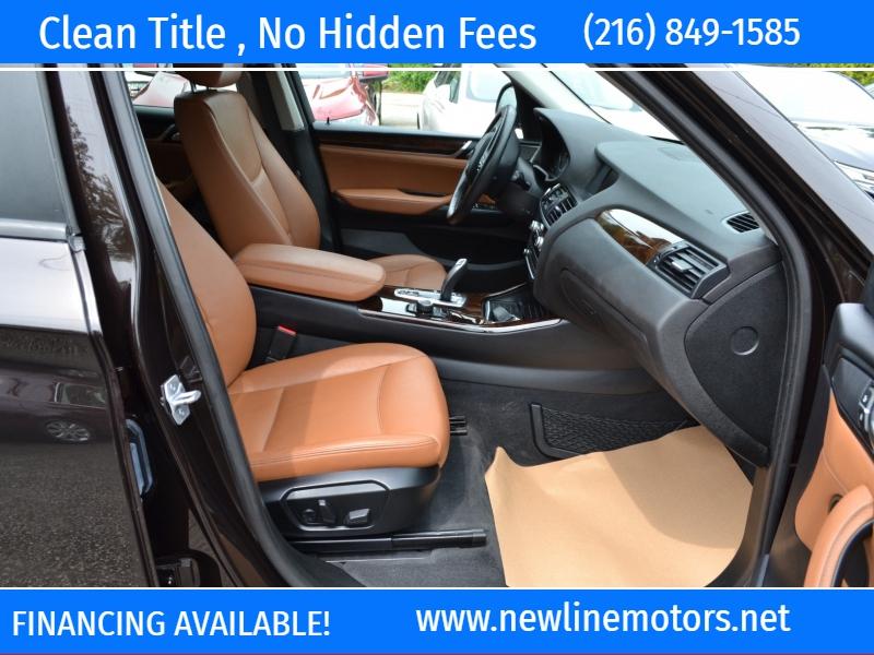 BMW X3 2016 price $19,495