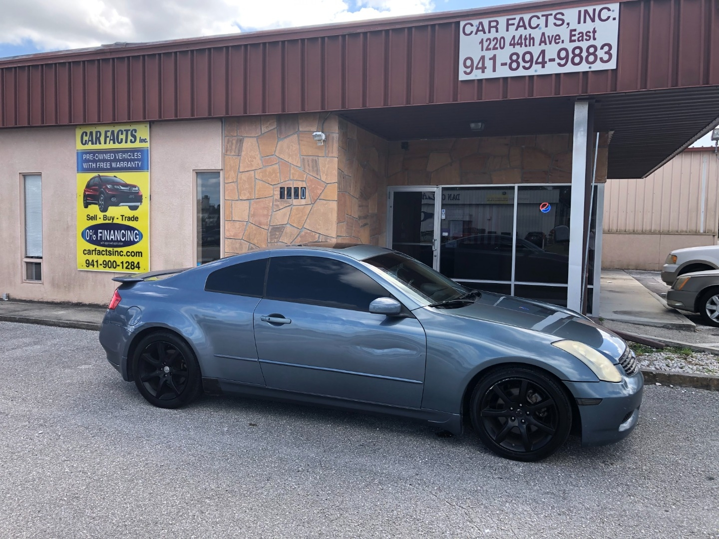 2006 Infiniti G35 Coupe 2dr Cpe Auto Car Facts Inc Dealership In Bradenton