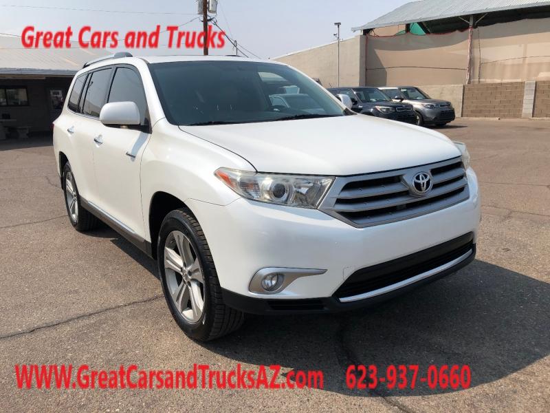 Toyota Highlander 2012 price $14,991