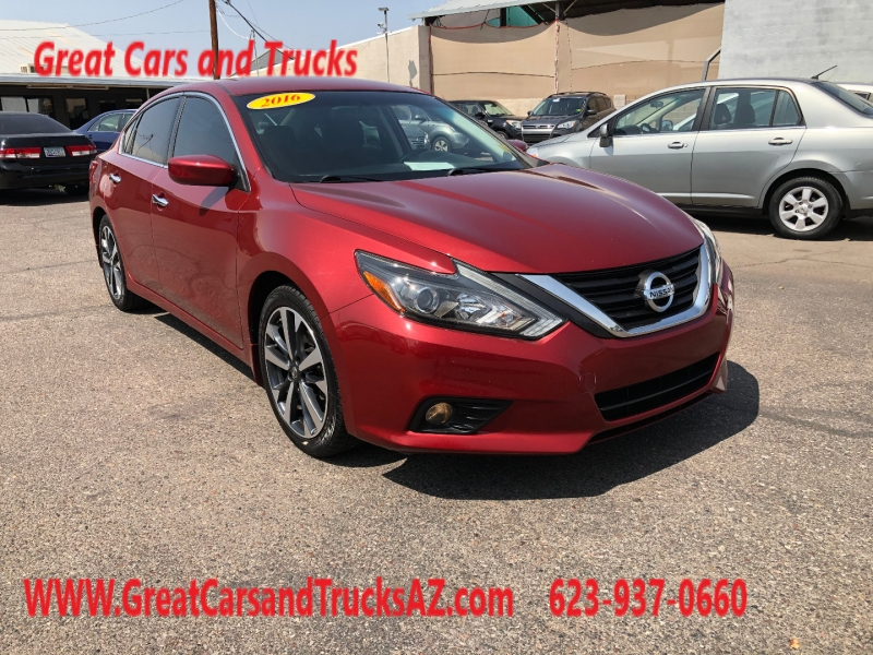 Nissan Altima 2016 price $15,491