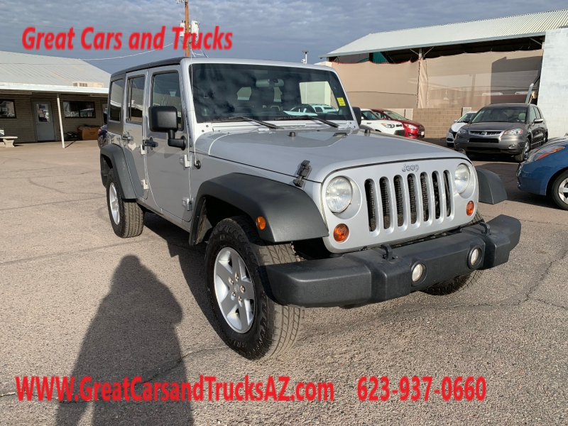 Jeep Wrangler Unlimited 2012 price $18,991