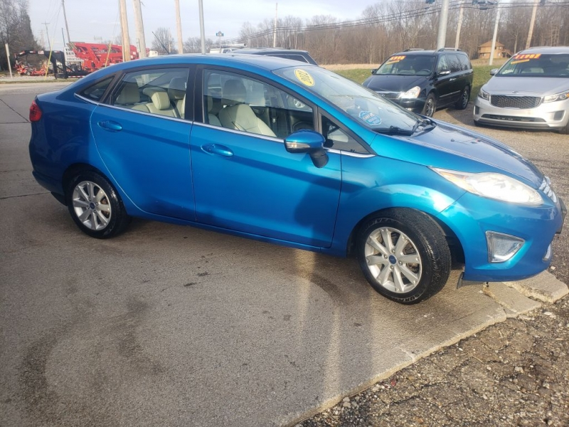 Ford Fiesta 2012 price $4,485