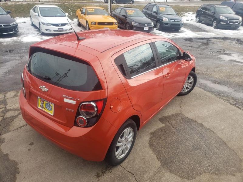 Chevrolet Sonic 2013 price $4,985