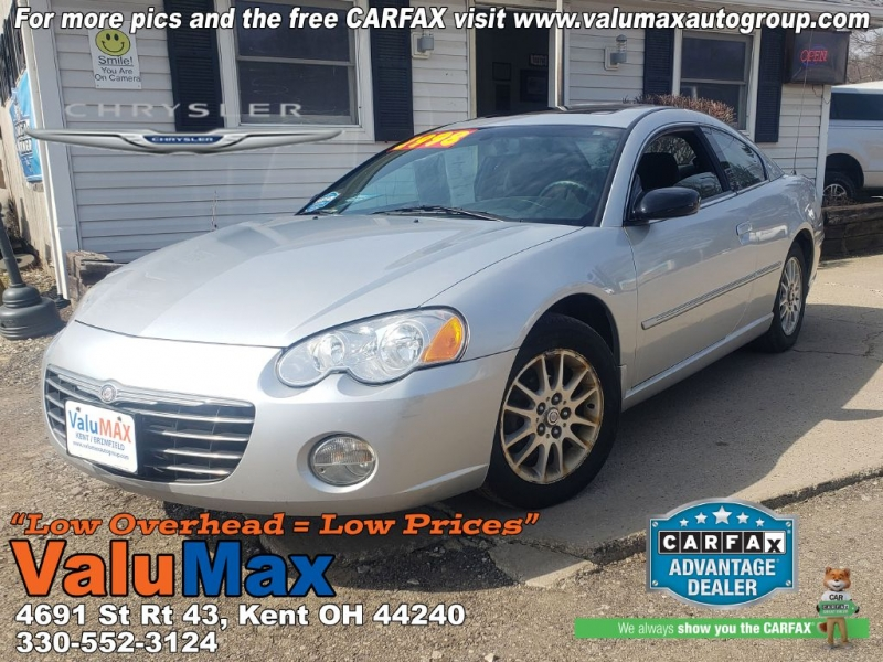 Chrysler Sebring 2003 price $2,998