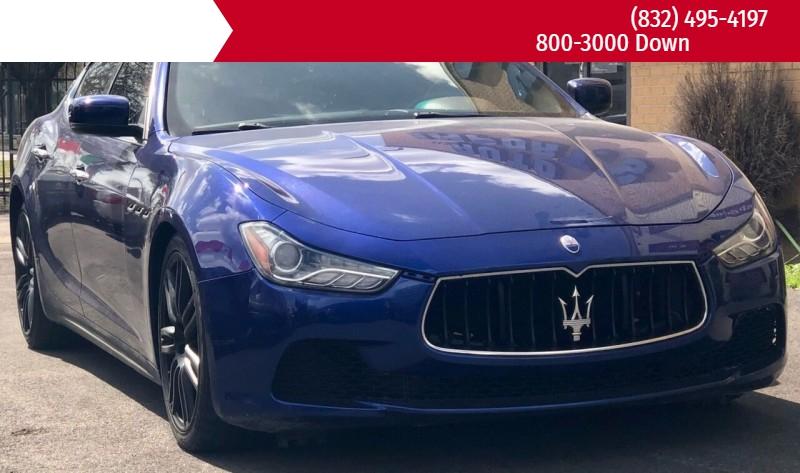 Maserati Ghibli 2015 price $24,995