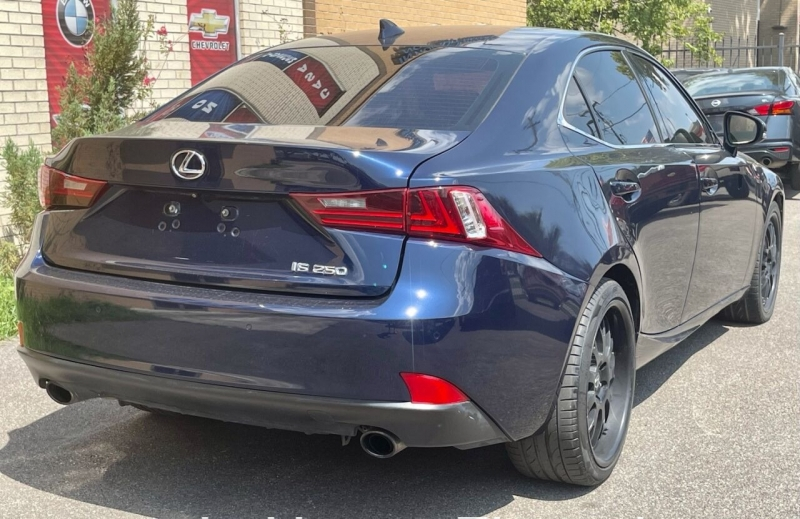 Lexus IS 250 2015 price $0
